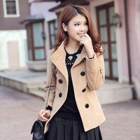 2013 british style autumn victoria personalized large lapel cape wool coat women outerwear fashion jacket