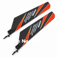 free shipping 5pairs /lot wltoys wl toys v911 2.4G rc helicopter spare parts V911-2 main blades