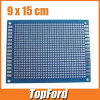 Free shipping 20pcs/lot 9x15 cm PROTOTYPE PCB Single Side 9*15 panel Universal Board test board #IB009