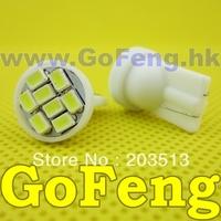 500pcs/lot white led T10 8 led smd 8SMD194 168 192 W5W 3020smd super bright Auto led car lighting wedge