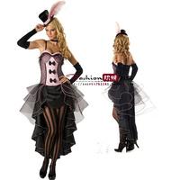 Halloween clothes queen gothic costume pirate black demon