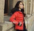 Trend Knitting  2013 Winter New slim thicken warm Cotton down women's coat fashion jacket 4 Colors  plus-size 4XL