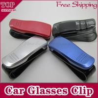 Free shipping 1pcs Fashion Smart multi-purpose Car Glasses Clip car eyeglasses frame sunglasses