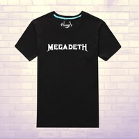 Megacorp megadeth dave mustaine short-sleeve T-shirt band