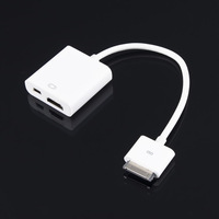 Dock Connector to HDMI TV Adapter Charging Cable Mini USB Sync Charger for Apple iPad 2 3 iPhone 4 4S Free Shipping