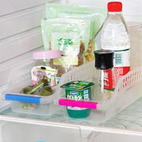 Free shipping Refrigerator plastic storage basket food storage box cutout drawer storage box  SW102