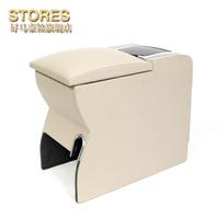 Volkswagen armrest box pullo armrest box new polo central punch refit
