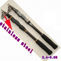 New fashion 3.0M carp fishing strong rods , surf rods telecopic fishing rods ,1pcs/lot