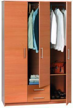 3 doors wardrobe model