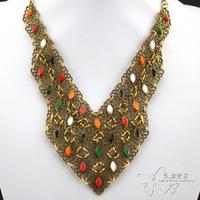 Fashion necklace t colnmnaris evening dress short design necklace