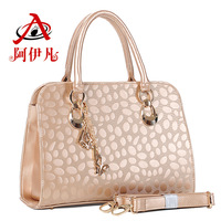 Free shipping Bags 2013 women's handbag fashion metal color fashion shoulder bag handbag messenger bag women's bag