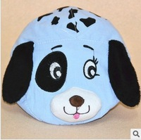 Free shippping 2013 new plain weave solid lovely peaked cap dog style beret hat AQ81904