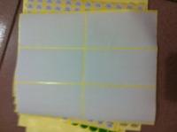 Blank label paper  7.7*3.8cm