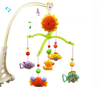 FREE SHIPPING Baby Toys for 0-12 Months Hand Bed Crib Musical Hanging Rotate Bell Ring Rattle Mobile