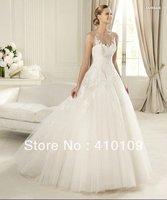 Empire high waist tulle wedding dress  Wedding Dresses