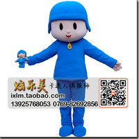 Small p cartoon dolls clothes doll clothes clothing pocoyo adult costume