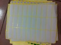 Blank label paper  5*1.9cm