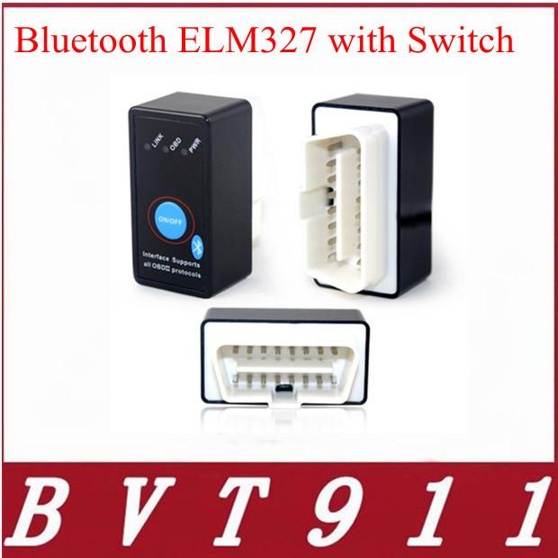 Top Rated Mini Bluetooth ELM327 OBD2 CAN-BUS Diagnostic Car Scanner