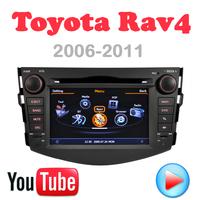 Car DVD RAV4 RAV 4 2008 2011 Toyota GPS Car PC Multimedia 3G wifi Navigation DVR HD S100 touch video Factory Price Free Map card
