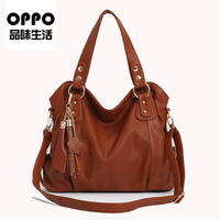 New 2013 OPPO Brand Fashion Women PU leather Handbags,America Popular women High Quality Shoulder Bag