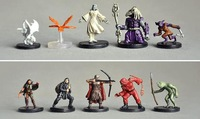 Free shipping High Simulation  Dungeons & Dragons mini War Chess 9 styles 1 lot