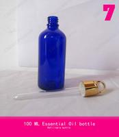 transparent bottle 100ml ,oil bottle,ladies perfume glass spray (basket ring + rubber head + glass dropper )
