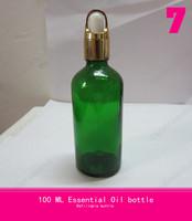 cosmetic jar 100ml ,makeup setting spray (basket ring + rubber head + glass dropper )transparent empty soap dispenser bottle