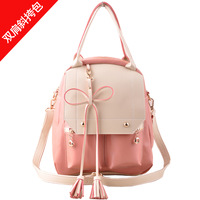 2013 backpack messenger bag fashionable female casual bags quality backpack multi-purpose bag