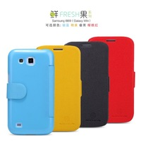 Nillkin leather case for Samsung i869 Original colorful high quality protective cover for i869 hot sale in stock