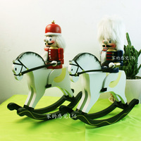 Very funny hand craft  Free Shipping 30cm nutcracker birthday gift home decoration 06