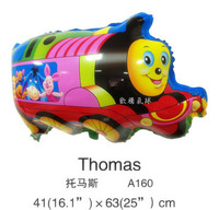 Free Shipping 50pcs Thomas Train Mylar Balloons The Kids Toys Party Deco and Birthday Occasion