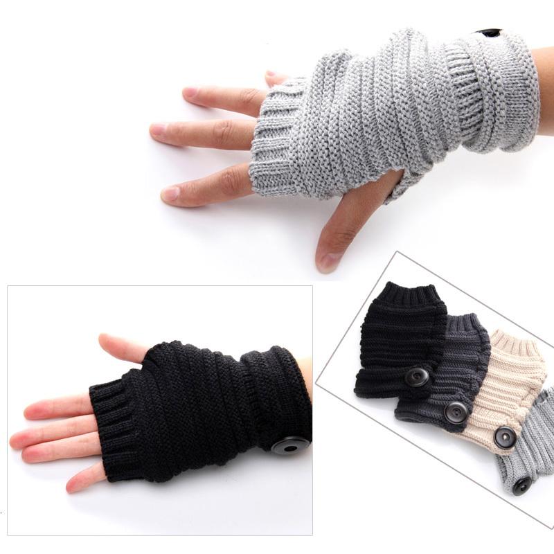 Mens Fingerless Leather Gloves  eBay