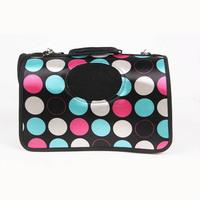 HOT Sale Black Circle Ventilated Breathe Freely Go Outside Portable Pet Bags HG-0160