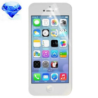 Free shipping (5pieces/lot) Diamond Film Screen Protector for iPhone 5C