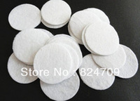 Free Shipping White Color For Select 1mm Thick 3.0*3.0cm Round Felt Accessory Patch Felt Pads Felt Circle1000pcs/lot