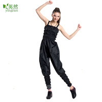 Strengthen edition spaghetti strap pants slimming pants weight loss service fitness clothing sauna service sauna pants sauna