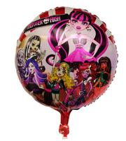 Hot sell 50 pcs/Lot foil balloon,helium balloon,cartoon design balloon