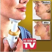 2015 Portable Neckline Slimmer Neck Exerciser Chin Massager health monitors jaw care adipometro para medir gordura corporal