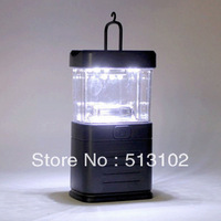 free shipping portable 15 LED Bivouac Camping Lantern Light Lamp Tent Fishing Plastic