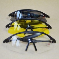 free shipping Yellow grey transparent  cool  bicycle Polarized Sunglasses military glasses sport Glasses bike glasses
