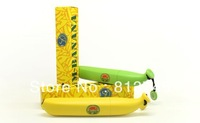 Free shipping 4pcs/lot folding fashion YELLOW / GREEN UM-banana umbrella, rain proof banana umbrella