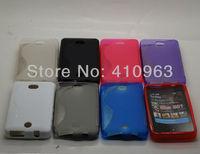 20pcs/lot Free shipping New Arrival Soft TPU Case for Nokia Asha 501