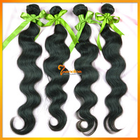 new star peruvian 5 pcs body wave human hair extensions free shipping, aaaaa princess ideal hair mixed length, color 1# 1b 2# 4#