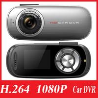"Car Recorder T8 HD 1080P 30fps Car DVR Camcorder 1.5"" LCD Carcam Auto Camera H.264 AVI Free Shipping"
