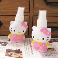 New Arrival Wholesale 30pcs/lot Kitty Refillable Bottle,Lady's Small Perfume Holder Bottle Case , Makeup Spray Bottle Sprayer