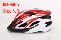 Freeshipping!Giant helmet giant one piece helmet molding mountain bike helmet