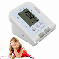 CE FDA CONTEC08C Digital Blood Pressure Monitor Sphygmomanometer w/ Child Cuff + Child  SPO2 Probe