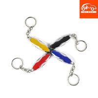 Car anti-static keychain electrostatic car accessories keychain auto supplies