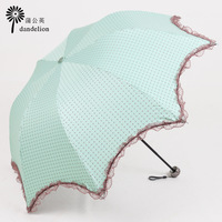 Free shipping Sun umbrella anti-uv sun protection umbrella elargol super sun 50 apollo pencil folding