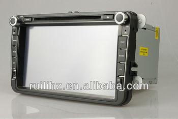 VW SHARAN  Auto  Radio Mp3 Car with   Antena GPS 2 din  8 inch   Free 4GB memory Card Free map